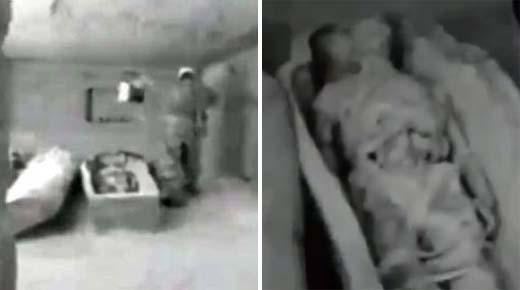 Imágenes de la Tumba del Visitante, tomadas por la KGB