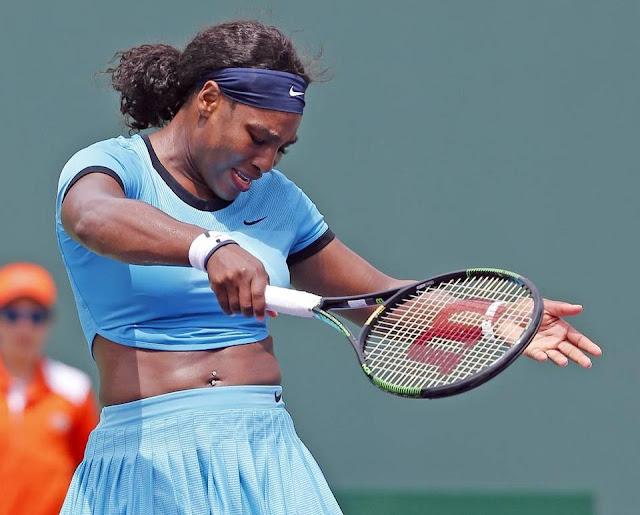 Passive Serena Williams becomes onlooker in Miami Open loss