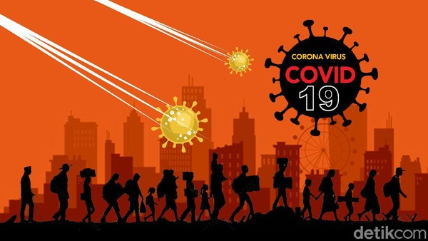 63.683 Suspek Corona Dipantau Pemerintah pada 16 November