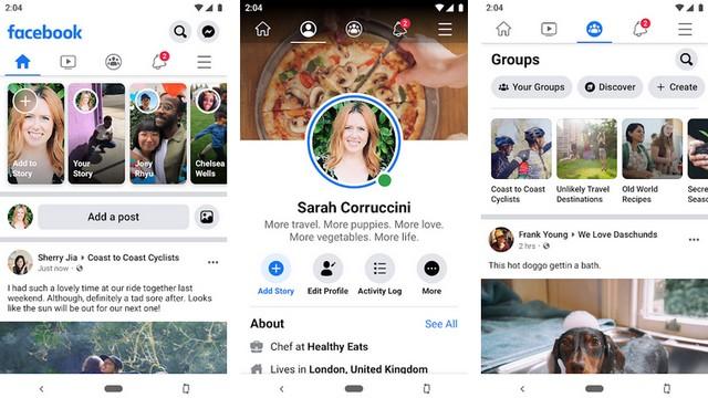 Facebook - أفضل تطبيقات التواصل الاجتماعي للاندرويد