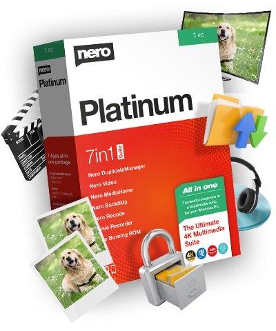 Descargar Nero Platinum 2020 Suite [Multilenguaje]