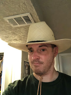 Man Wearing Panamanian Farming Hat