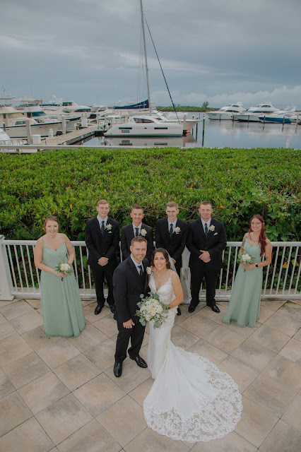 westin cape coral wedding party