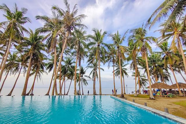 Unisan Quezon Infinity Pool + Hidden Beach (Calilayan Cove) 2D1N
