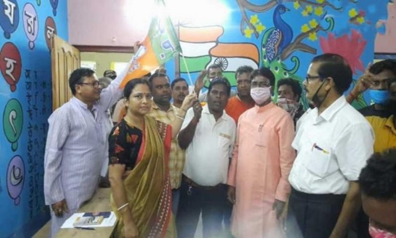 The influential leader of Malda left the TMC and rejoined the BJP