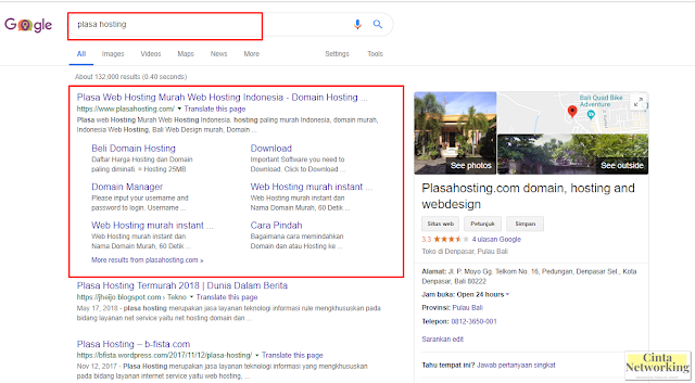 Cara Mudah Membeli Domain Dan Hosting Murah Di Plasa Hosting - Cintanetworking.com