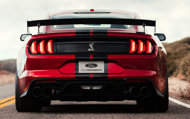 Mustang Shelby GT500 2020 terá 700 cv e câmbio DCT