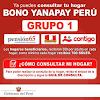Bono Yanapay Perú Grupo 1: ¿Cómo Consultar Si Eres Beneficiario?