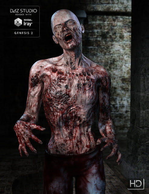 Ultimate Zombie HD for Genesis 2 Male