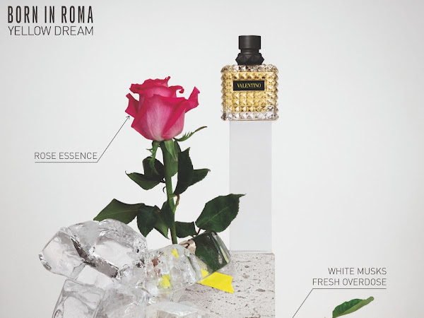 NOUVEAU PARFUM | VALENTINO DONNA BORN IN ROMA YELLOW DREAM