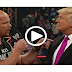 Steve Austin uses his legendary Stone Cold Stunner on Donald Trump at Wrestlemania