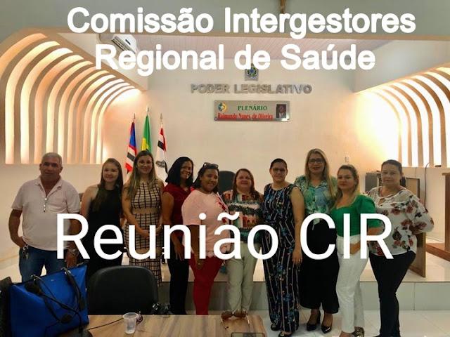 Unidade Regional de Saúde através da CIR realiza reunião em Brejo-MA