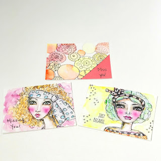Whimsical Art Postcards
