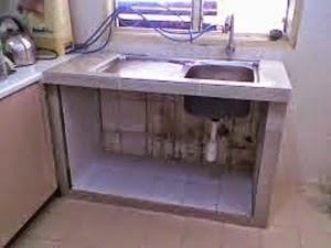 Sinki Dapur Sumbat Lantai Sinky