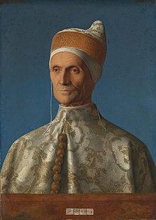Giovanni Bellini's 1501 portrait of Venetian Doge, Leonardo Loredan