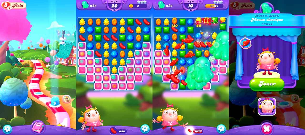 Candy Crush Friends Saga pour Android