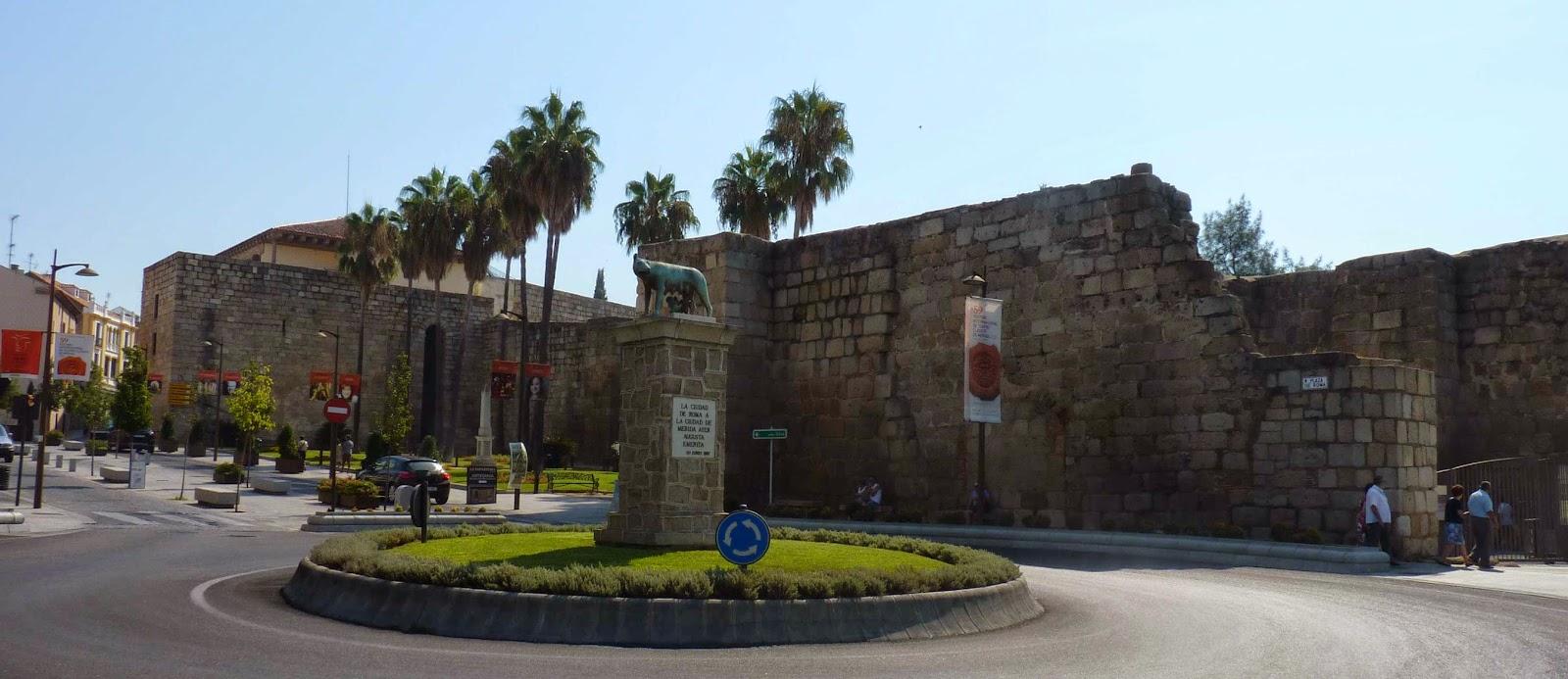La Alcazaba de Mérida.