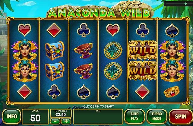Ulasan Slot Playtech Indonesia - Anaconda Wild Slot Online
