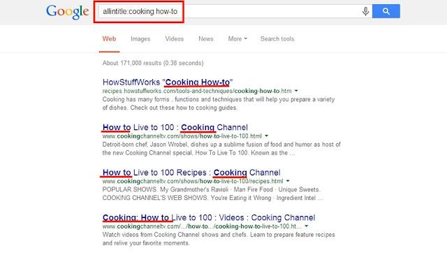 Cuando no utilizamos las comillas alrededor de las palabras claves, Google nos devolverá resultados con las keywords, pero sin importar el orden de las mismas