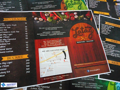 Colored Menu for Sitio Latag
