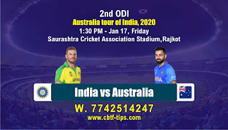 cricket prediction 100 win tips Aus vs Ind