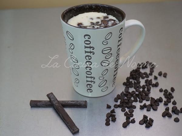 PASTEL CHOCOCHIPS EN TAZA ¡¡EN MICROONDAS!! (MUG CAKE CHOCOCHIPS)