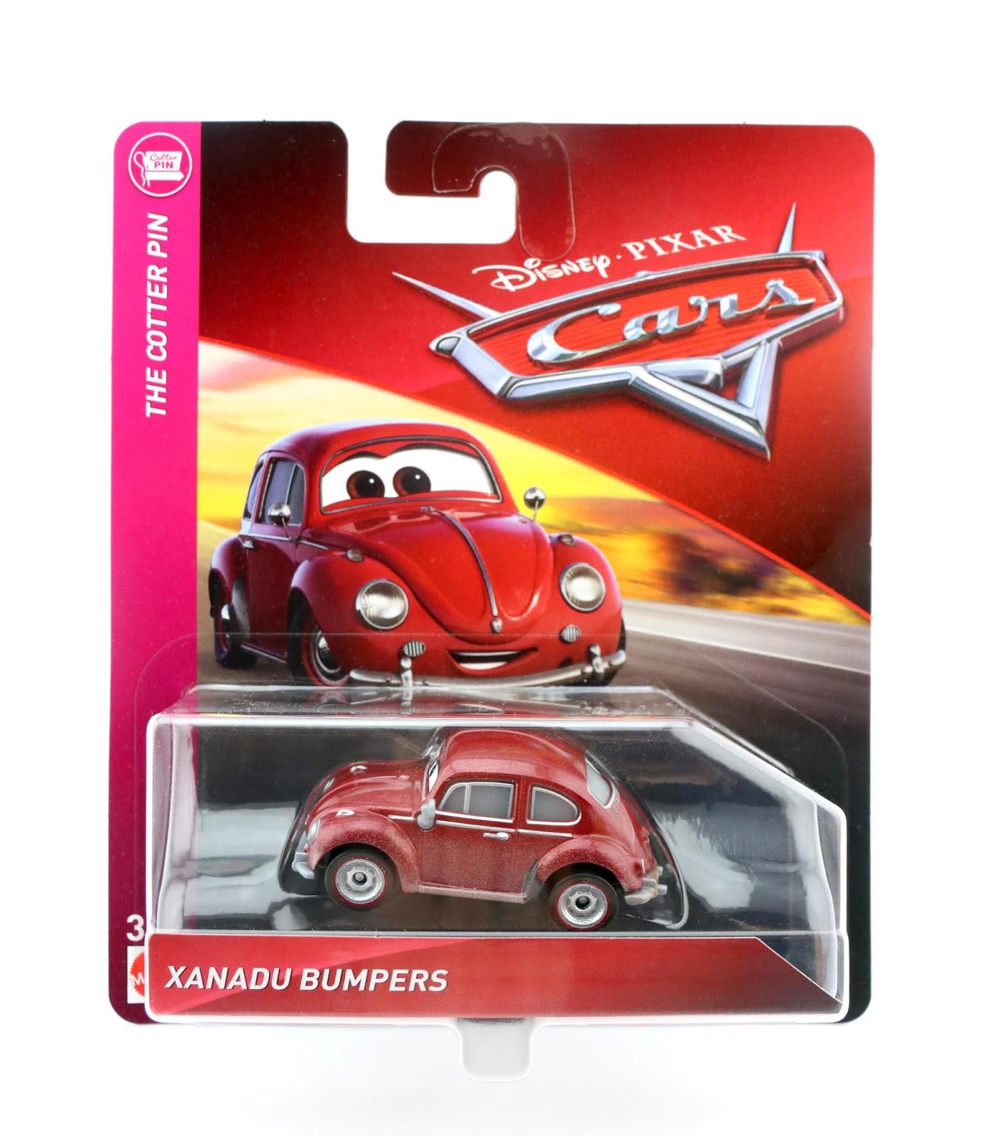Cars 3 Xanadu Bumpers