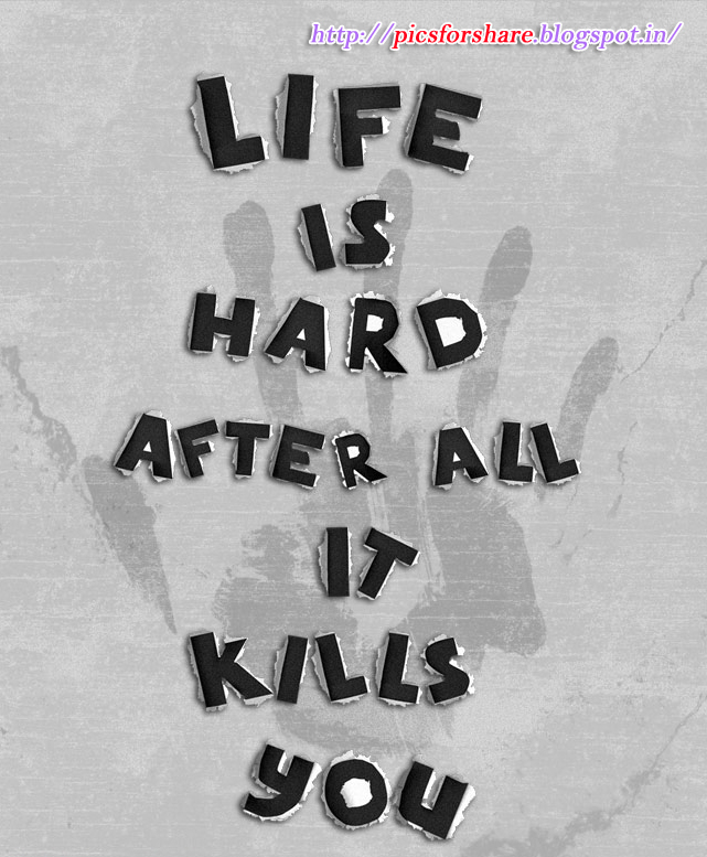 Wallpaper With Quotes On Life For Mobile: Hard Life Quotes Wallpaper. QuotesGram