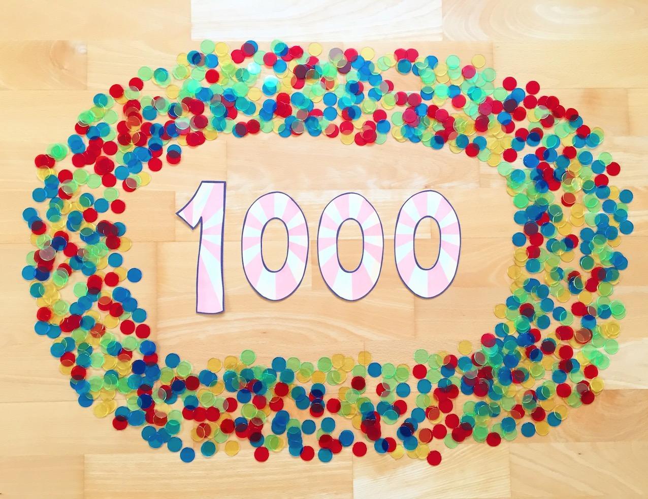 materialwiese zahlenraumerweiterung bis 1000
