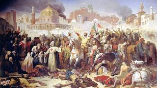 Conquista cruzada de Jerusalén en 1099