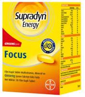 Supradyn energy focus kullananlar yorumlar