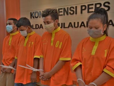 Kabid Humas Polda Kepri, Tiga Kasus Sabu di Bulan Oktober