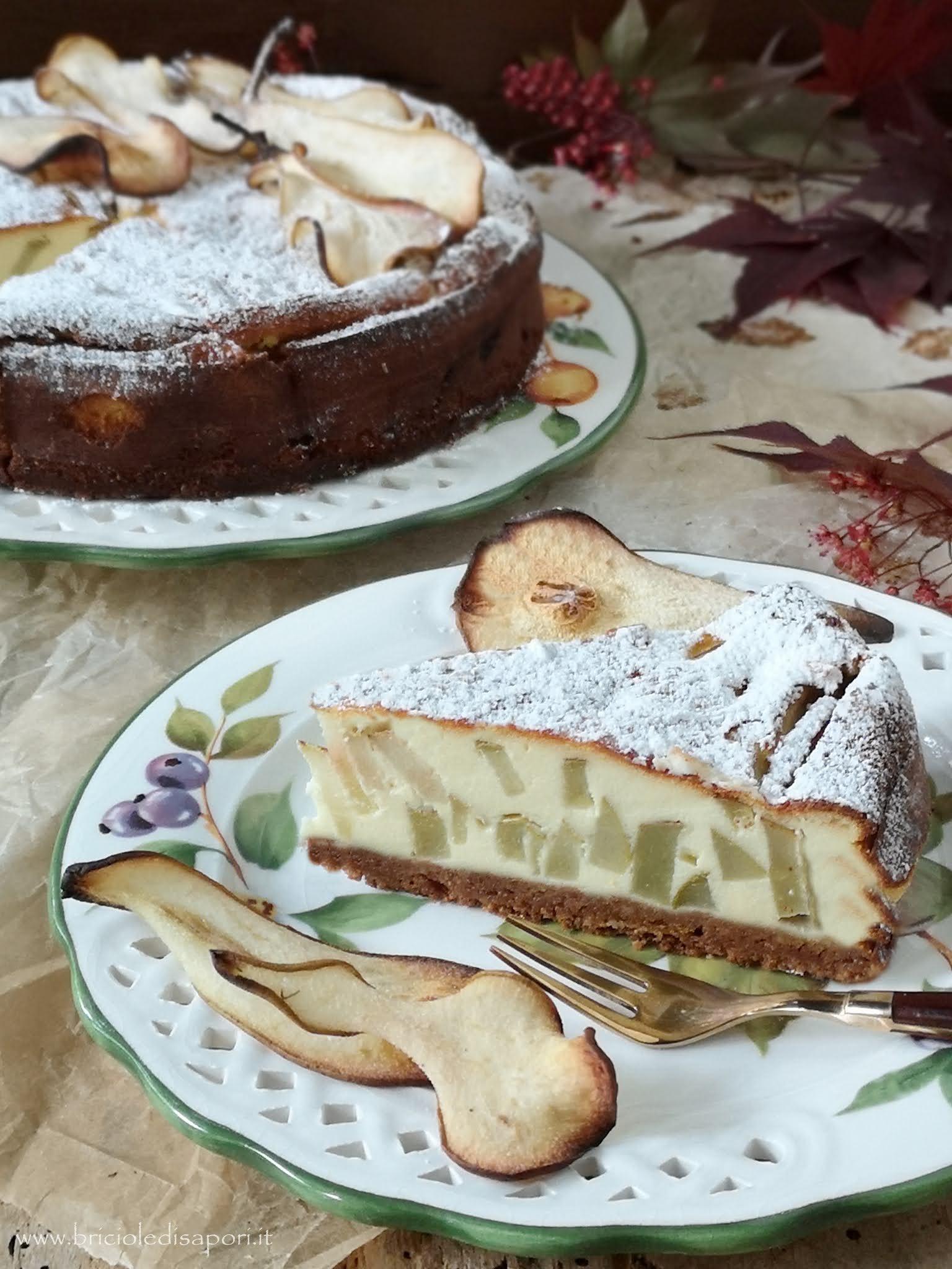torta di pere con robiola