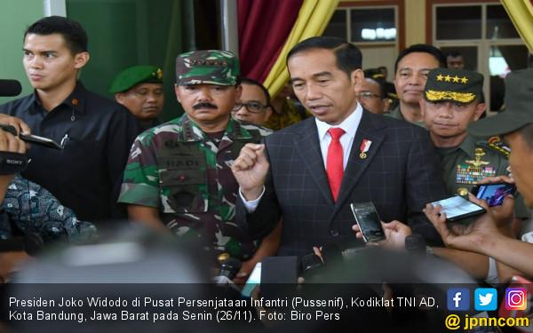 Jokowi Kembali Tegaskan TNI Harus Netral
