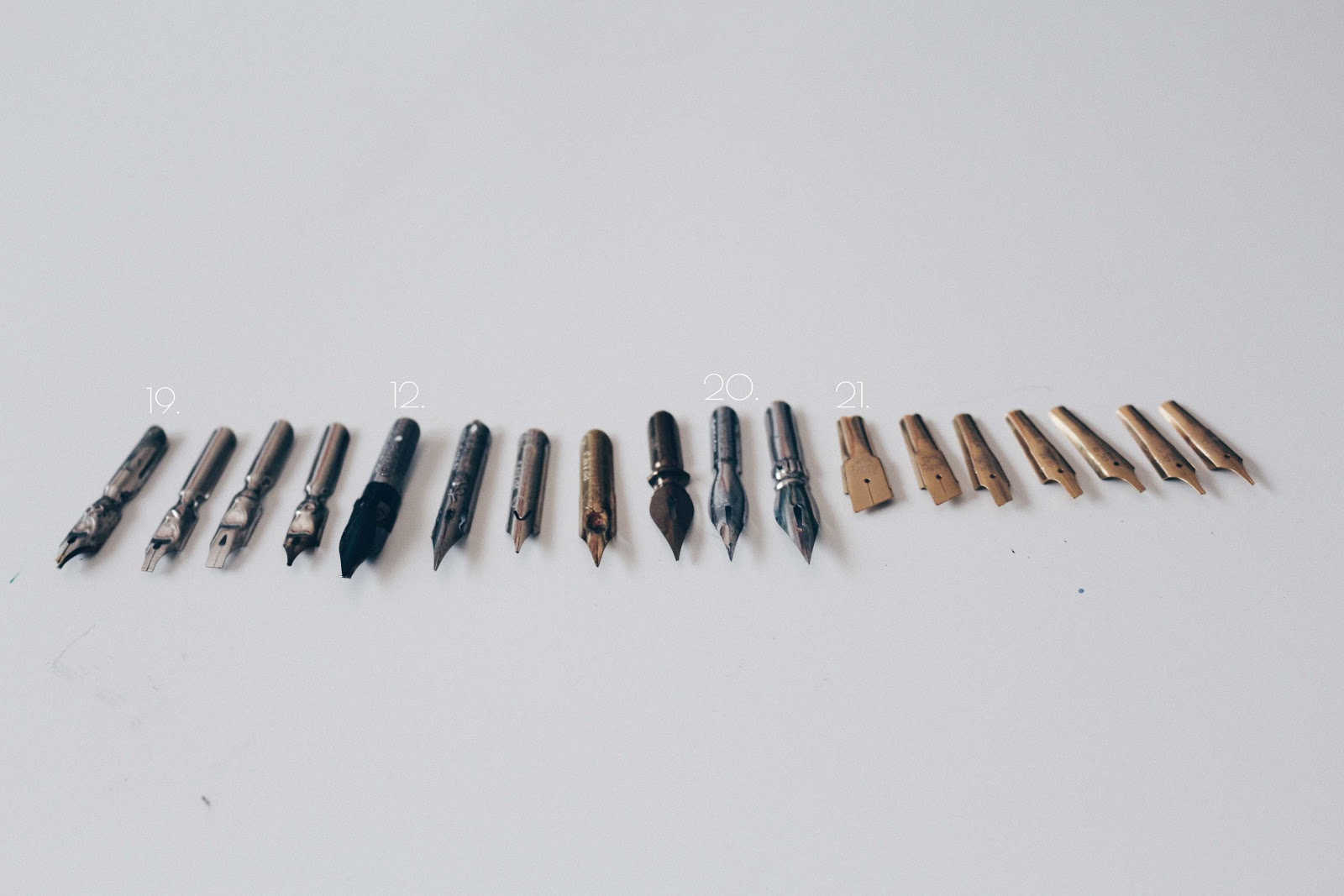 decorative calligraphy nibs