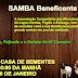 Samba beneficente será realizado na Lagoa Dantas, município de Baixa Grande