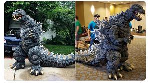 Cosplay Godzilla | Fantasia Incrivel