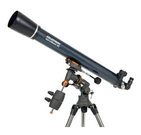 Small Refractor Telescope - Image by Celestron
