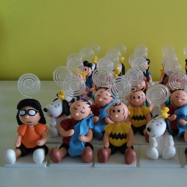 Lembrancinhas da Turma do Snoopy