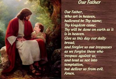 Tanda Salib, Bapa Kami, Salam Maria, Kemuliaan, Doa Tobat, Pengakuan Iman, dan Terpujilah