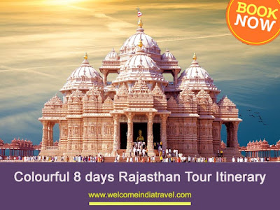 Colourful 8 days Rajasthan Tour Itinerary