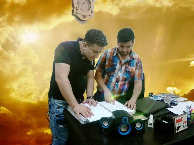 المخرج السوري محمد عبود يستعد مع المنتج مهند الشيخ لبدا التصوير في وصية المرحومة