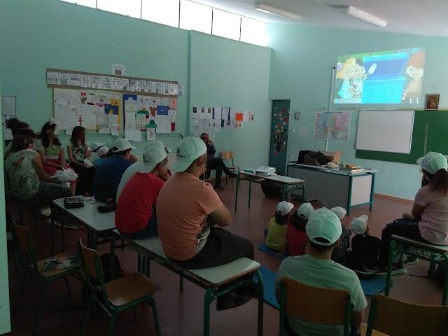 Πρόγραμμα ενημέρωσης – ευαισθητοποίησης  –  Επίσκεψη στο Δημοτικό Σχολείο Ελεώνα του Δήμου Θηβαίων