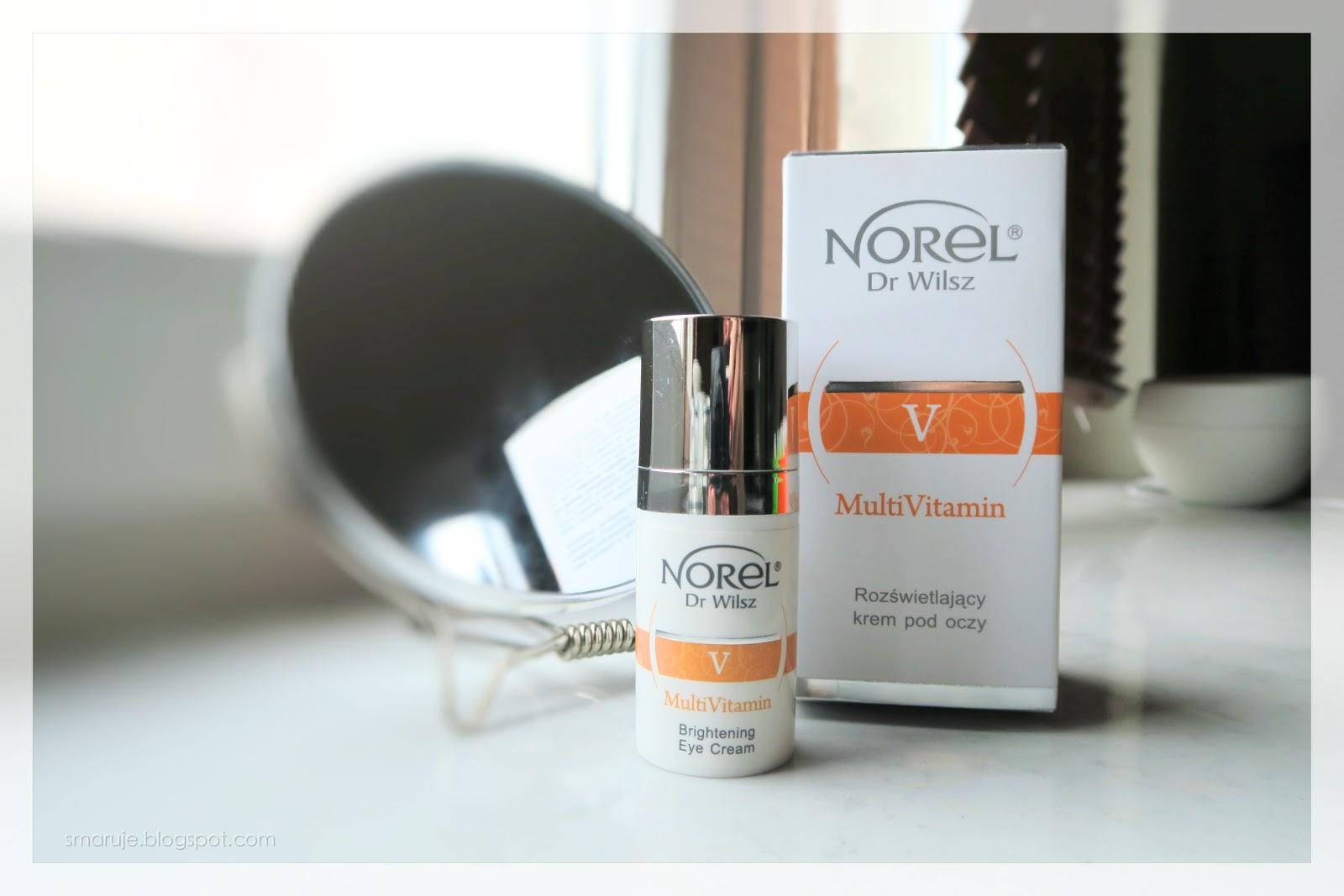 Norel dr Wilsz –V MultiVitamin –Rozświetlający krem pod oczy /recenzja/