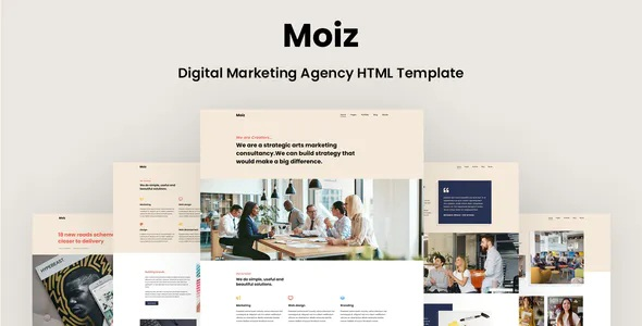 Best Digital Marketing Agency Template
