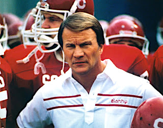 Coach Barry Switzer at Oklahoma as the football coach before the Dallas Cowboys, and opening his own vineyard in Napa, California