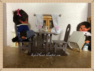 kiki monchhichi cute mignon toys life  kidult poupée doll