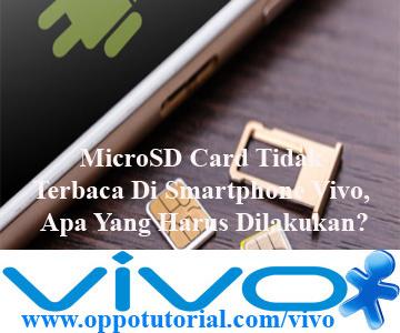 MicroSD Card Tidak Terbaca Di Smartphone Vivo