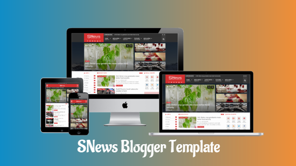 snews premium blogger template download, download template blogger premium gratis, download template blogger gratis