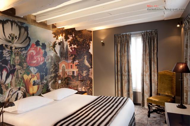 Habitaciones de hotel rom ntico en paris for Designhotel 54